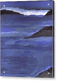 Ocean View Acrylic Print by Lynnette Jones