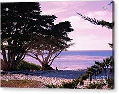 Ocean Views From Carmel Beach  Acrylic Print