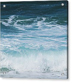 Ocean Waves From The Depths Of The Stars Acrylic Print by Sharon Mau