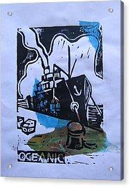 Oceanic Acrylic Print by Adam Kissel