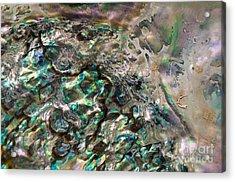 Oceanic Eruption Acrylic Print by Joy Gerow