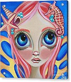 Oceanic Fairy Acrylic Print by Jaz Higgins