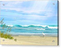 Oceanic Landscape Acrylic Print