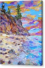 Ocean's Domain Acrylic Print by Steven Boone