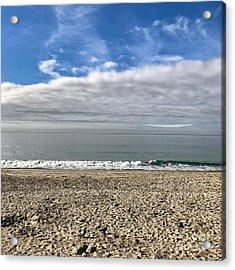 Acrylic Print featuring the photograph Ocean's Edge by Kim Nelson