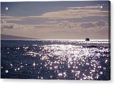 Oceans Light Acrylic Print by JAMART Photography