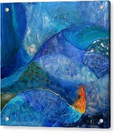 Ocean's Lullaby Acrylic Print by Aliza Souleyeva-Alexander