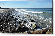 Oceanscape Acrylic Print by Joanne Brown