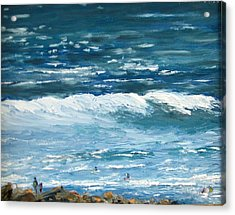 Oceanside 3 O'clock Acrylic Print