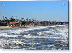 Acrylic Print featuring the photograph Oceanside by AJ Schibig