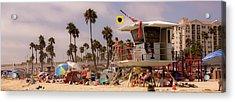Oceanside Beach Acrylic Print