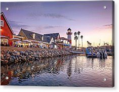 Oceanside Harbor Acrylic Print