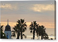 Oceanside Sky Acrylic Print by Jean Booth