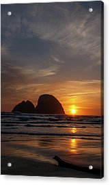 Oceanside Sunset 4 Acrylic Print