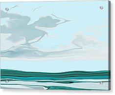 Oceanus Iv Acrylic Print by Pauline Thomas