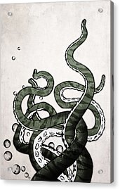 Octopus Tentacles Acrylic Print by Nicklas Gustafsson