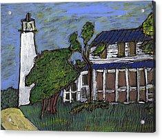 Ocracoke Island Light House Acrylic Print