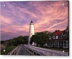 Ocracoke Lighthouse 01 Acrylic Print