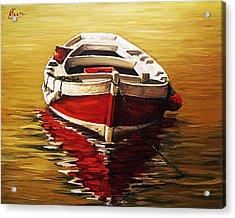 Ocre S Sea Acrylic Print