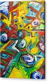 Octagon 1 Acrylic Print by Alfredo Dane Llana