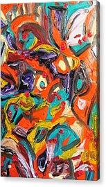 Octagon 2 Acrylic Print by Alfredo Dane Llana