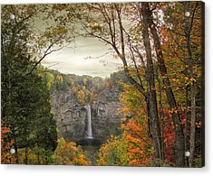 October At Taughannock Acrylic Print by Jessica Jenney