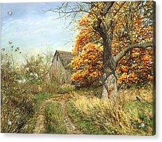 October Glory Acrylic Print by Doug Kreuger