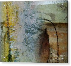 October Acrylic Print by Lutz Baar