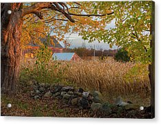 Acrylic Print featuring the photograph October Morning 2016 by Bill Wakeley