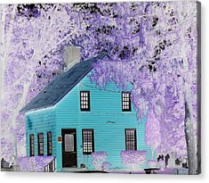 Acrylic Print featuring the photograph October  by Reina Resto