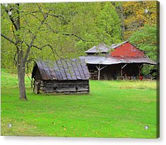 October Saturday Afternoon Acrylic Print by Terry  Wiley