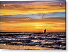 Acrylic Print featuring the photograph October Surprise by Bill Pevlor