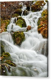October Waterfall Acrylic Print