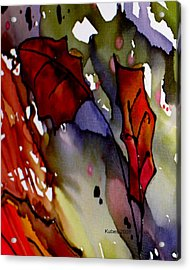 Octoberfirst Acrylic Print by Susan Kubes