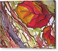 Octobersecond Acrylic Print by Susan Kubes