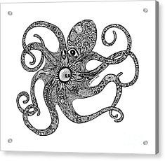 Octopus Acrylic Print by Carol Lynne