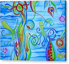 Octopus' Garden Acrylic Print