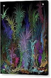 Octopus' Garden Acrylic Print by Russell Pierce