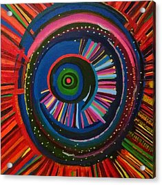Ocular Energy Path Acrylic Print by Daina White
