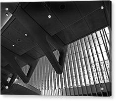 Oculus Interior Acrylic Print