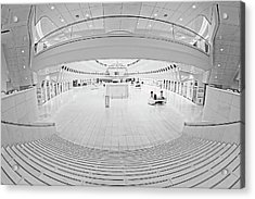 Acrylic Print featuring the photograph Oculus Transit Hub Wtc Concierge by Susan Candelario