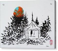 Acrylic Print featuring the painting Odawara Ijo No Burumun by Roberto Prusso