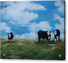 Odd Cow Out Acrylic Print