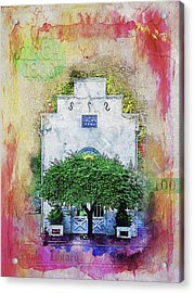 Oddfellows Library Building Acrylic Print