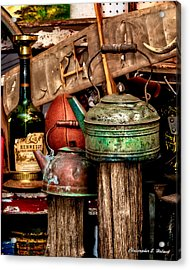 Odds And Ends Acrylic Print by Christopher Holmes