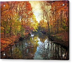 Acrylic Print featuring the photograph Ode To Autumn by Jessica Jenney