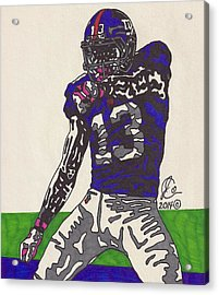 Odell Beckham Jr  Acrylic Print by Jeremiah Colley