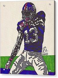 Odell Beckham Jr  Acrylic Print