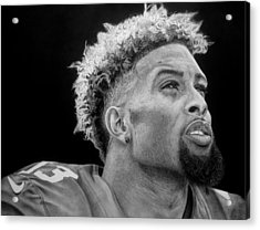 Odell Beckham Jr. Drawing Acrylic Print