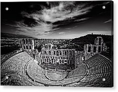Odeon Of Herodes Atticus Acrylic Print